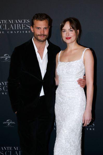 Jamie Dornan starred alongside Dakota Johnson in the Fifty Shades Franchise.