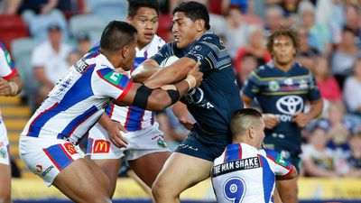<strong>9 North Queensland Cowboys (last week 8)</strong><br />