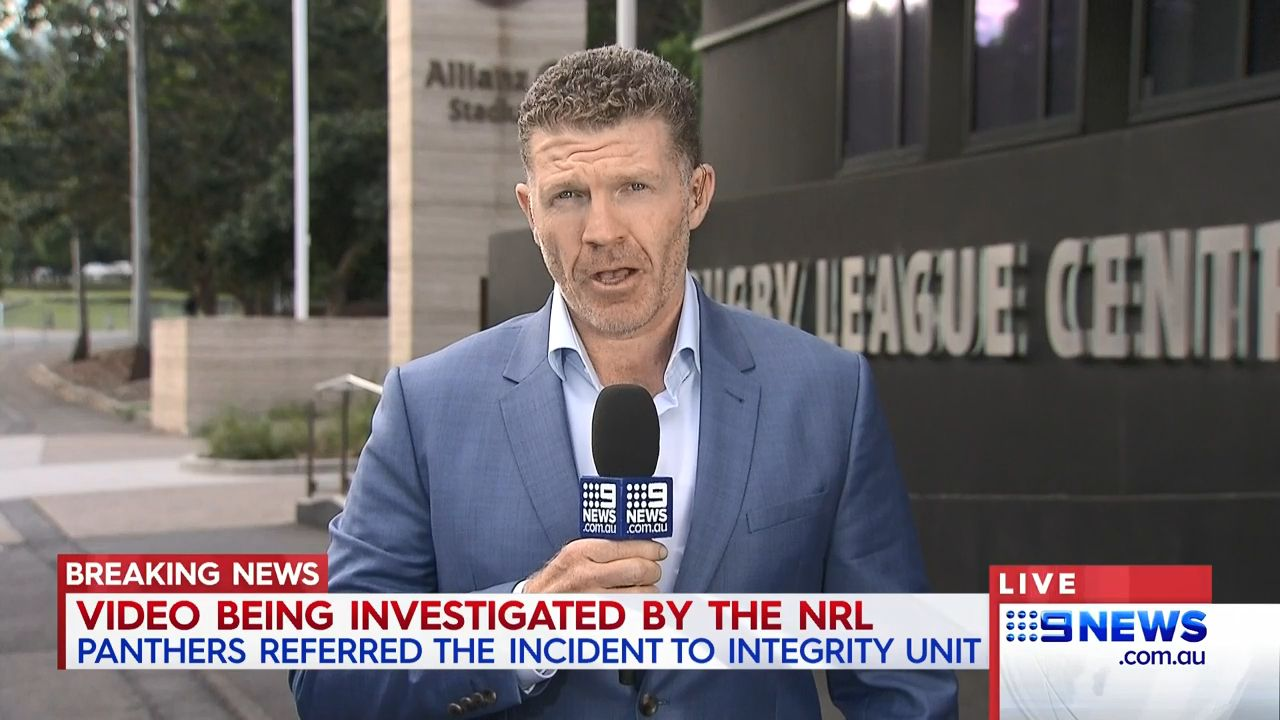 Panthers' May 'involved in NRL sex video'