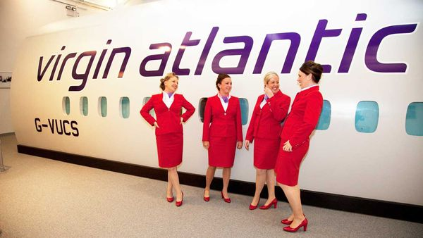 Virgin Atlantic's cabin crew can no opt to go makeup-free