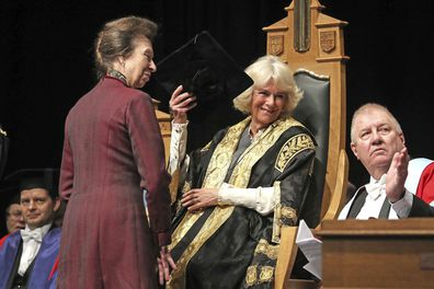 Princess Anne honoured by Camilla Duchess of Rothesay with honorary degree in Scotland