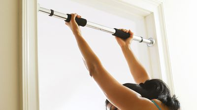 <strong>7. Invest in a chin-up bar (or go to your local playground)</strong>