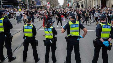 Melbourne CBD to be shut down on Saturday to prevent COVID-19 protest
