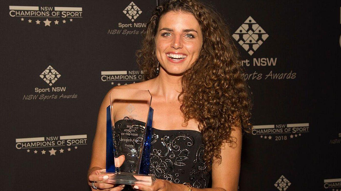 Canoeist Jessica Fox wins NSW athlete of the year honour