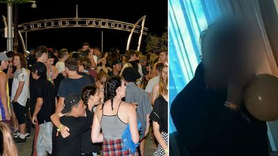 Schoolies filmed 'taking ecstasy and inhaling nang'