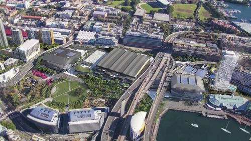 Darling Harbour is about to once again become one of Sydney's best attractions. (9NEWS)