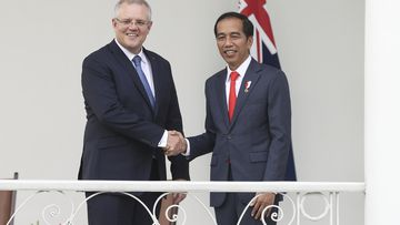 'Incredibly important': PM Morrison meets Indonesia's Joko Widodo
