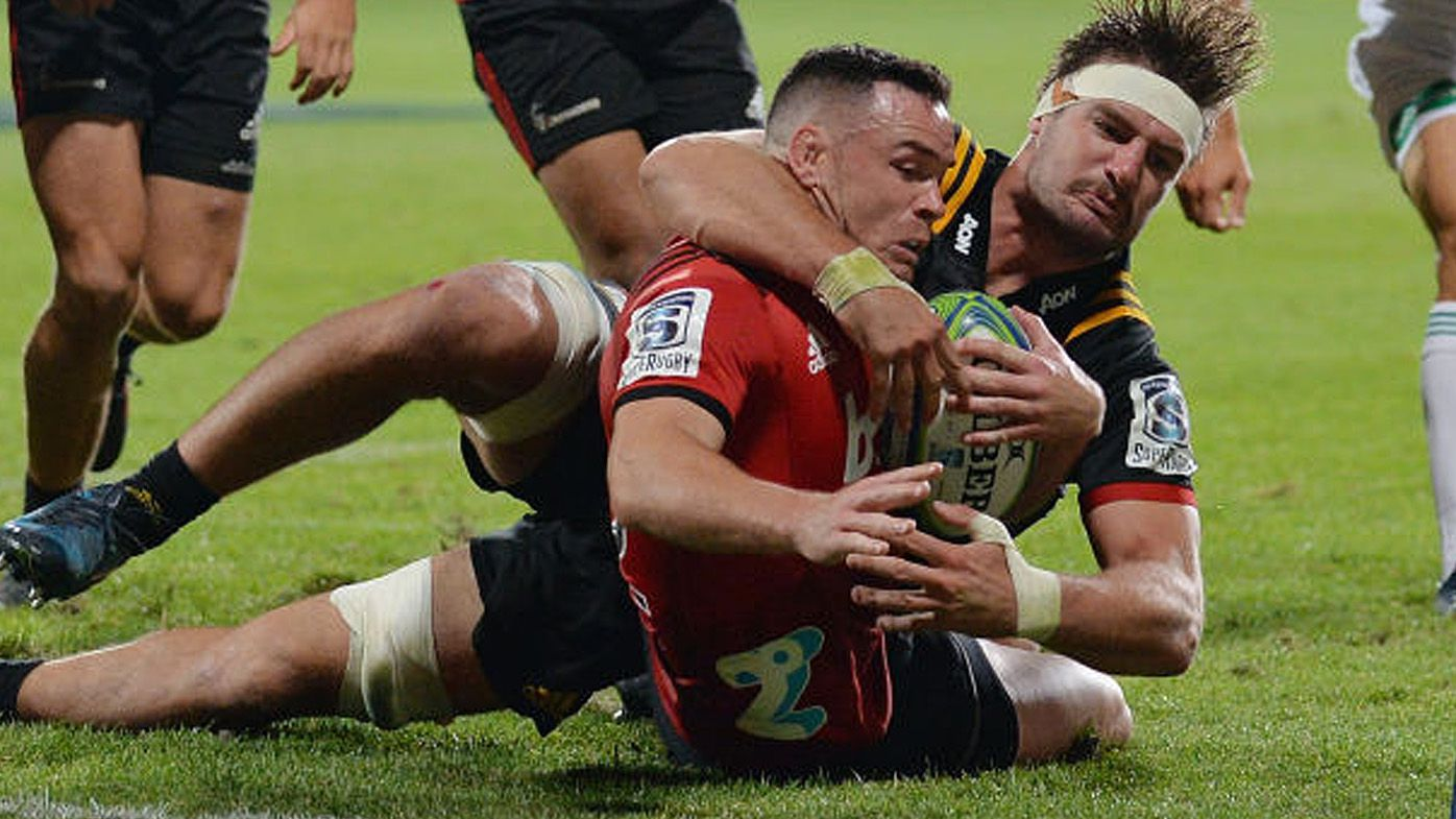 Super Rugby: Late penalty try proves costly for Chiefs in loss to Crusaders