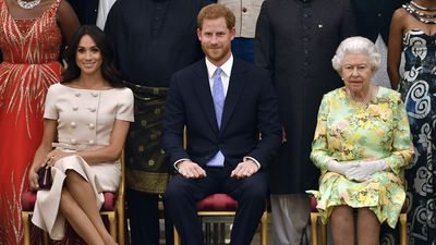 The Sussexes attend Queen's award ceremony, 26 June 2018