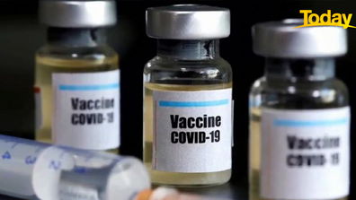 Pfizer has manufactured hundreds of doses of the drug in Belgium. It cost as Astra Zeneca, the company behind the vaccine Australia has bought says the jab could be available as soon as Christmas