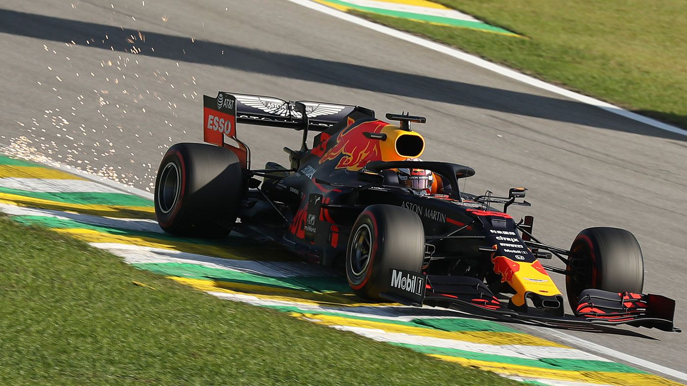 Max Verstappen on pole position for Brazilian Grand Prix, Daniel Ricciardo 12th
