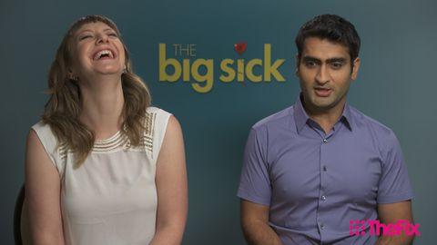 The Big Sick's Kumail Nanjiani and Emily V Gordon interview with TheFIX