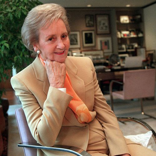 Katharine Graham, a legendary newspaper publisher died aged 84 in 2001. (AAP)