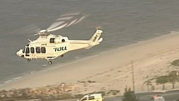 Kurnell Westpac helicopter operation 1