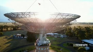 extra-terrestrial signal detected on parkes telescope
