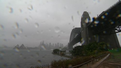 Sydney has seen the most rain in more than a year.