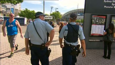 Extra police have been called in to protect patrons. (AAP)