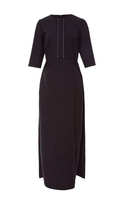 "<p><a href=""https://www.modaoperandi.com/ellery-r16/patty-dress"" target=""_blank"">Dress, $1648, Ellery at Moda Operandi</a></p>"