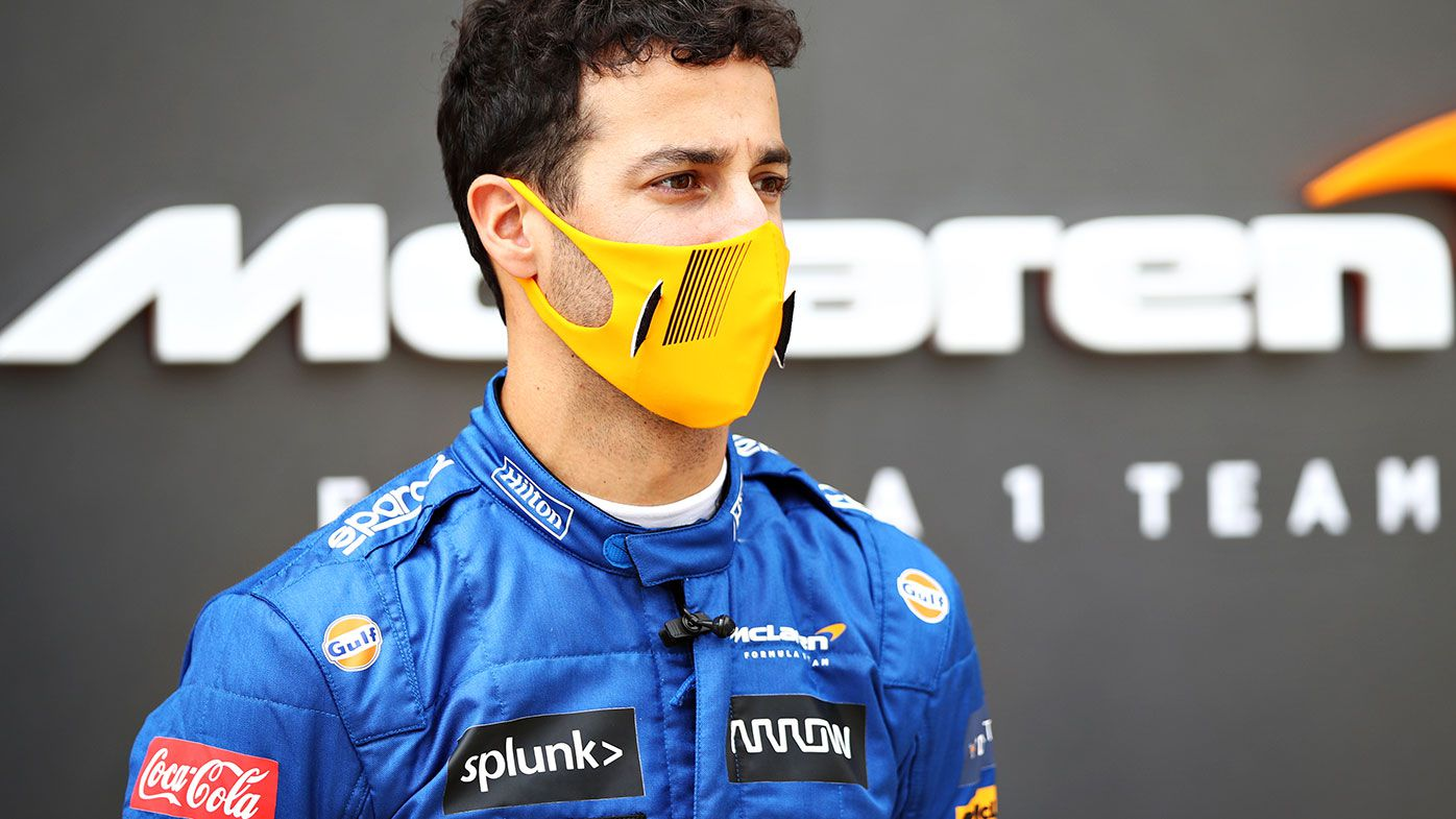 Australian fans will have to wait until November to see Daniel Ricciardo drive for McLaren.