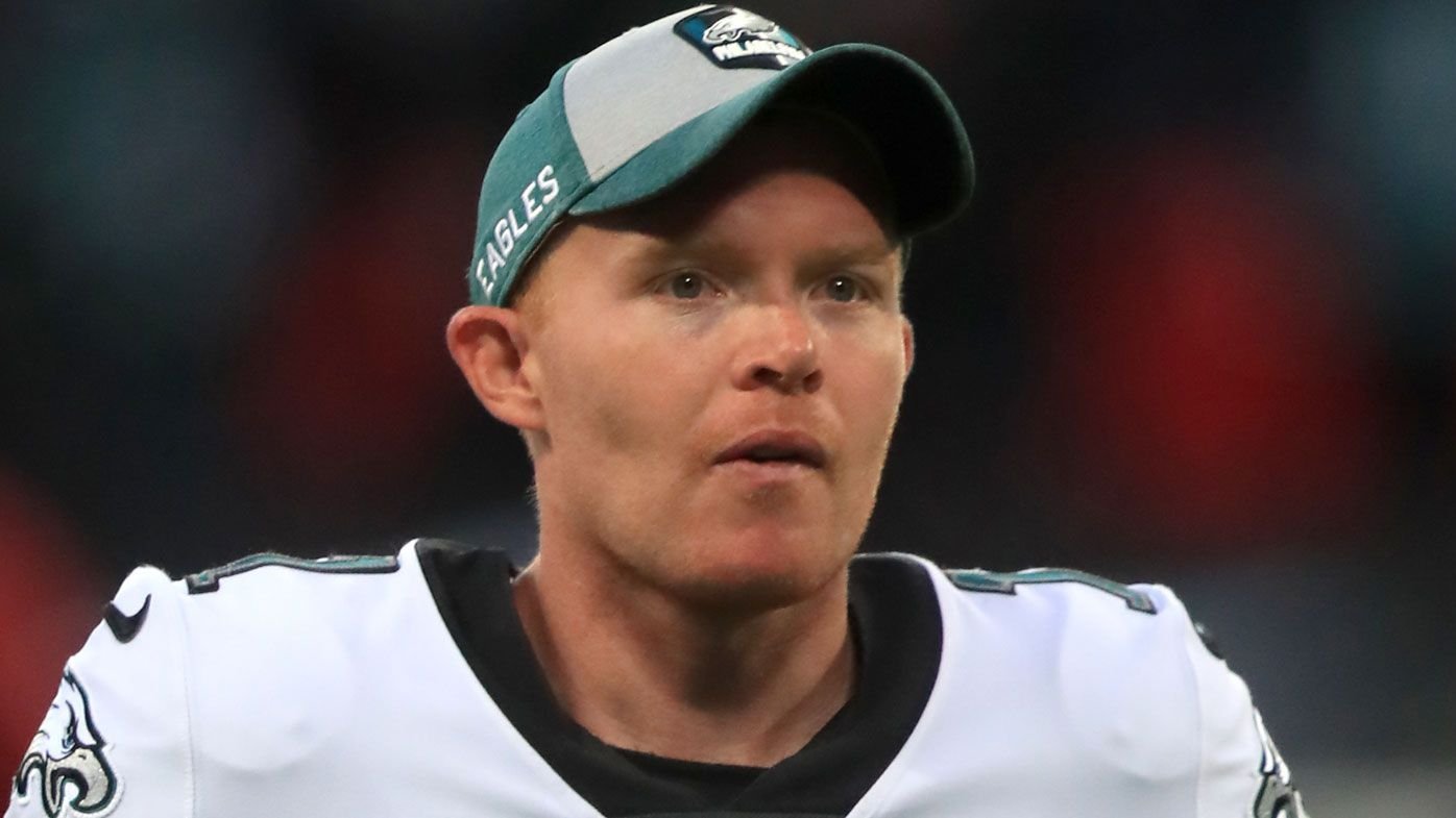 Aussie NFL punter Cam Johnston hailed for unusual punt in Eagles playoff game