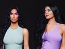 Kim Kardashian, Kylie Jenner, photoshop, fail, six toes, fragrance campaign, Instagram photo