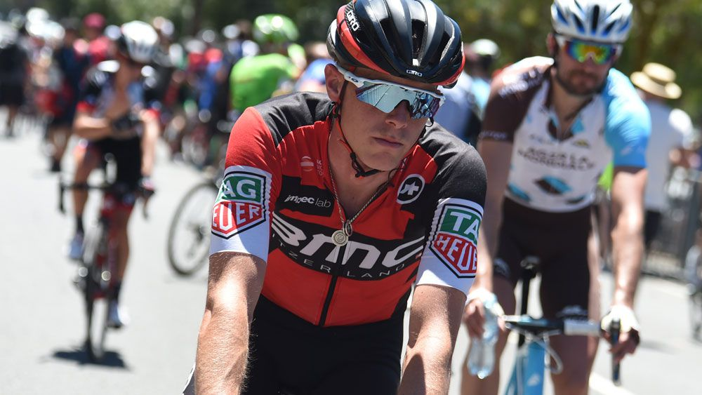 Richie Porte faces a tough challenge on day two of the Tour Down Under. (Stefano Sirotti)