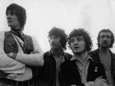 Fleetwood Mac members (from left to right) Mick Fleetwood, Peter Green, Jeremy Spencer and John McVie (Photo: 17th June 1968)