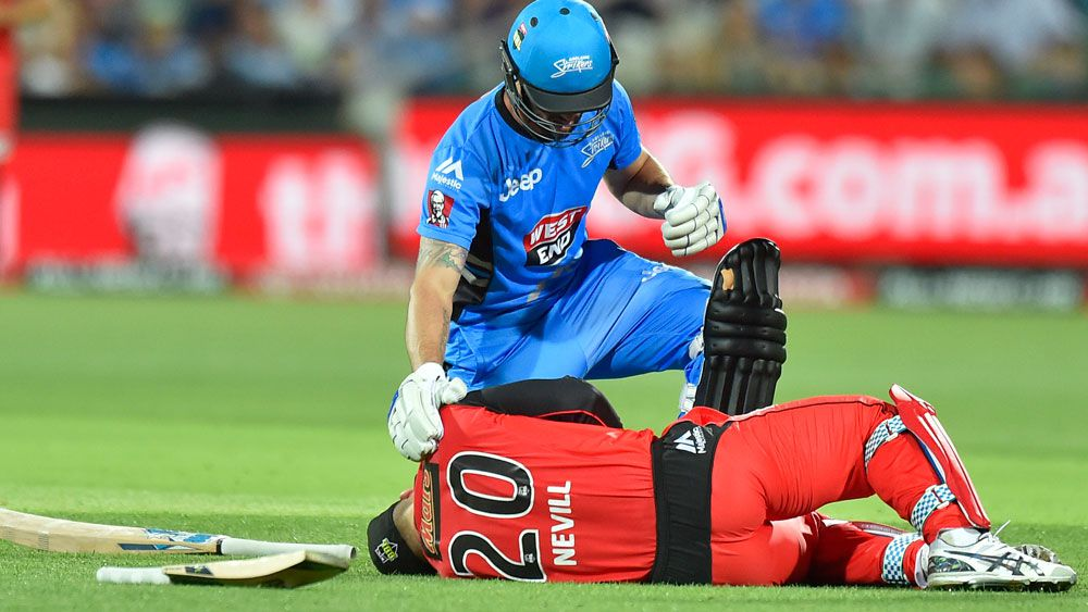 Nevill doubtful for Renegades BBL return