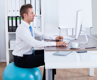 <strong>Myth: Good posture takes strength</strong>