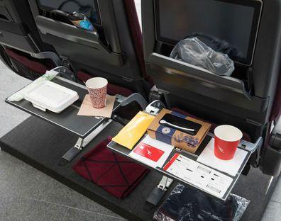 Qantas Zero Waste Flight