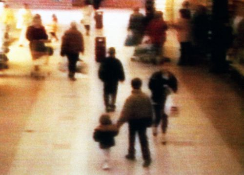 The film depicts how the two killers lured James Bulger away from his family in a UK shopping centre.