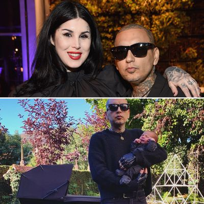 Kat Von D and her husband Leafar Seyer welcome baby boy