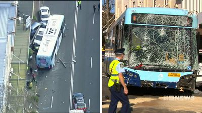 Bus crash driver 'shouldn't have been behind the wheel'