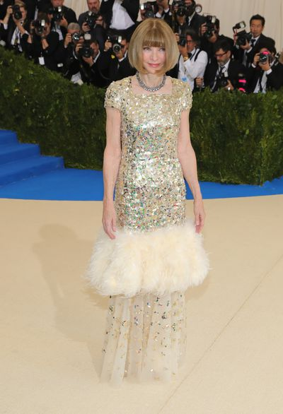 <p>The 2017 Met Gala, celebrating Rei Kawakubo/Comme des Garcons: Art Of The In-Between is the premier event on the fashion calendar.</p> <p>See all the red carpet arrivals here.</p> <p>Anna Wintour in Chanel.</p>