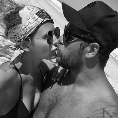 Jesinta and Buddy's love in black-and-white