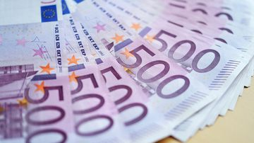 The European Central Bank said last year it had decided to discontinue the 500-euro note because of concerns that it was being used too often for illicit activities. (AFP)