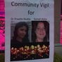 Tears and frustration at vigil for murdered Sydney women