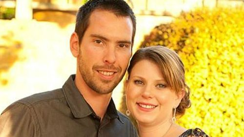 Melbourne mother Andrea Lehane with her husband James.