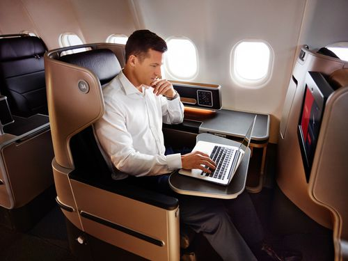 The Dreamliner is perfect for customers wanting to get to London in one move. (9NEWS)