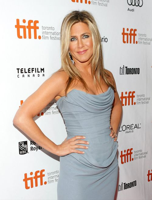 Jennifer Aniston has placed third on the Forbes list of top earning actresses with $31m. (Getty)