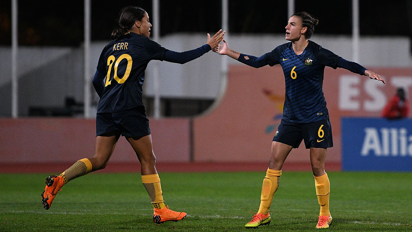 Matildas down China for Algarve play-off