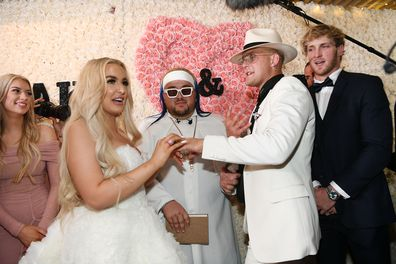 Jake Paul and Tana Mongeau get married in Las Vegas
