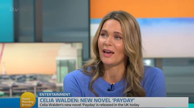 Celia Walden appears on Good Morning Britain
