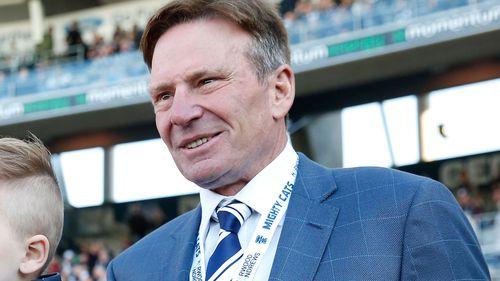 Geelong legend Sam Newman.