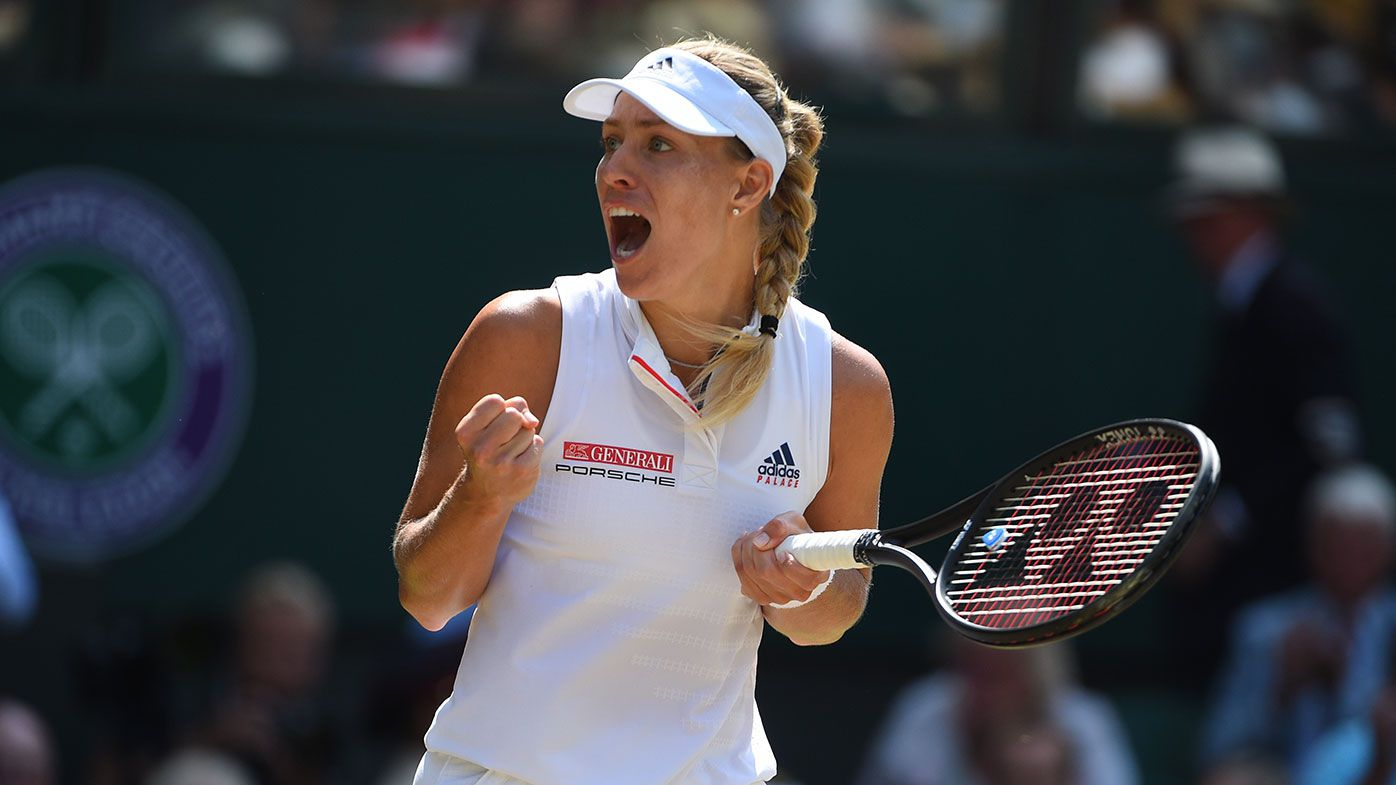 Angelique Kerber recalls memories of hero Steffi Graf after Wimbledon win