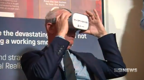 The issue has prompted the department to create a virtual reality experience, demonstrating how quickly the flames can spread.