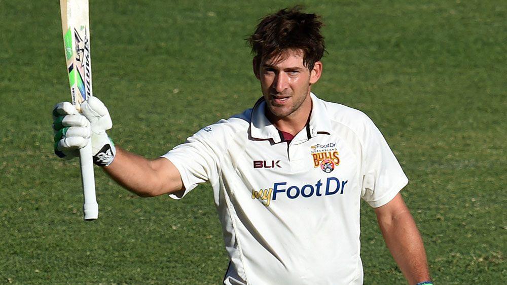 Joe Burns scored a century for Queensland against NSW. (AAP)