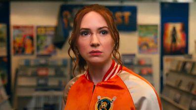 Karen Gillan plays 'Eva' an assassin who takes on a crime syndicate.
