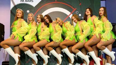 AK Bars cheerleaders