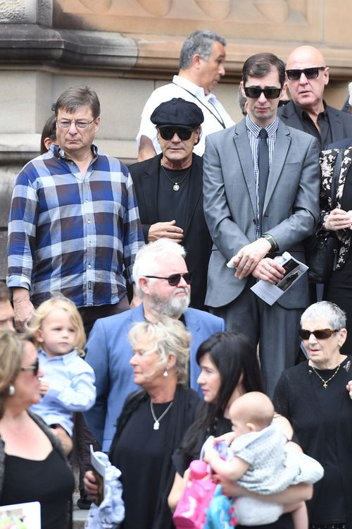 Johnson joined the band after the death of their lead singer Bon Scott. (Image: AAP)